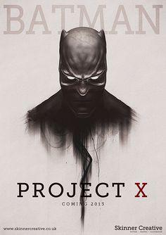 Batman Project X by Chris Skinner, via Behance