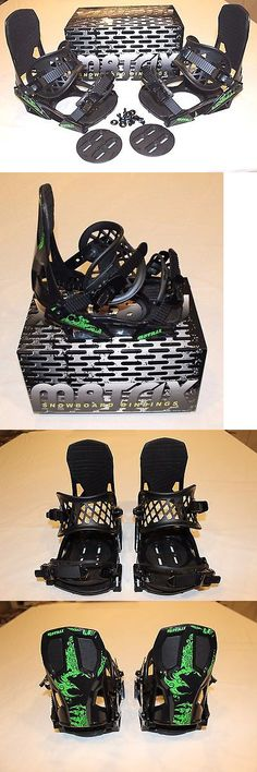 Bindings 21248: M8trix 540 Snowboard Bindings 4 Bolt And Burton 3D Mounting Provisions Men S Large -> BUY IT NOW ONLY: $64.95 on eBay!