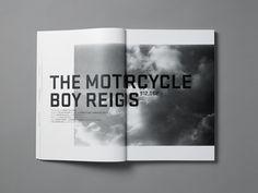 Clean Magazine Layout.