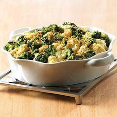 7 Broccoli & Cauliflower Casseroles