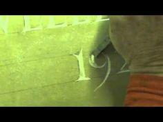 Hand Carving Stone Lettering - DJB David J. Brown Stonemason - YouTube Somerset, Carving, Lettering, Stone, Brown, Youtube, Rock, Wood Carving, Batu