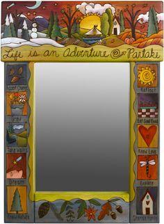 Love Sticks furniture, especially their mirrors.    http://sticks.com