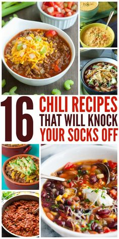 16 Chili Recipes That Will Knock Your Socks Off - One Crazy House