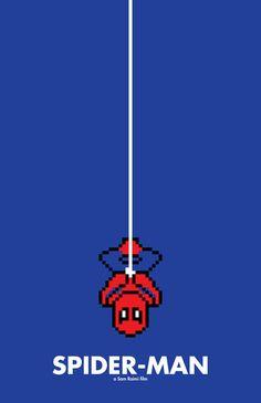 8 bit Spider-Man