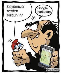 Gargamel trouve le village des Schtroumpfs - Gargamel found the Smurfs village Funny Cartoons, Funny Comics, Haha Funny, Funny Jokes, Humor Grafico, Just For Laughs, Memes Humor, Really Funny, Laugh Out Loud