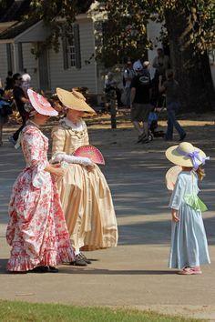 https://flic.kr/p/dqprCp | Ladies | Colonial Williamsburg, VA