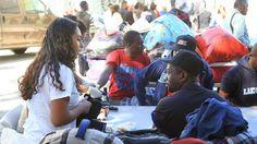 Los albergues fronterizos están colapsados: hay 2.000 haitianos y africanos varados