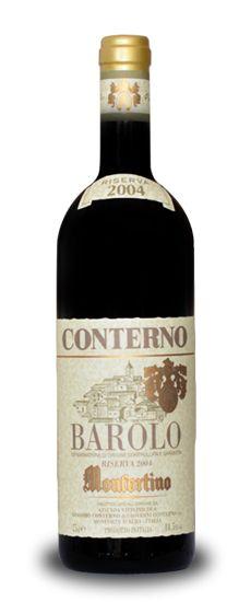 "I vini: Barolo Riserva ""Monfortino"" Giacomo Conterno 2005 www.altiramisu.com #winewednesday"