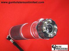 ZAP LIGHT STUN GUN/#FLASHLIGHT In Red Finish - Gun Holsters Unlimited