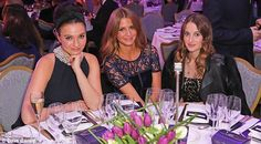 A taste of glamour: Cooking goddess Gizzi gave Millia and Rosie a run for their money in t. Vernon, Lbd, Awards, British, Husband, Glamour, Running, Money, Chic
