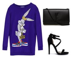 """Untitled #7"" by luckalucia on Polyvore featuring beauty, Moschino, Qupid and Yves Saint Laurent"