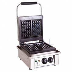 Professioneel elektrisch (brusselse / belgische) wafelijzer 2000W