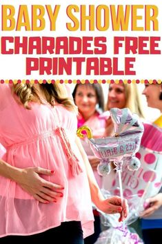 Grab your free printable baby shower charades cards here for one of the easiest baby shower games to plan and play! Use these funny baby shower charades ideas for a fun game at an in-person or a virtual baby shower! #babyshowercharades #babyshowergames Baby Shower Charades, Easy Baby Shower Games, Simple Baby Shower, Baby Shower Printables, Baby Shower Invitations, Pregnancy First Trimester, Birthing Classes, Virtual Baby Shower, Pregnancy Advice