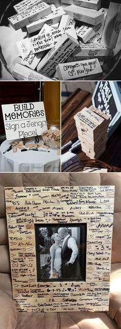 The perfect guest book is one fits your personality, will make you proud to display, and brings you joy! wedding games 20 Must-See Non-Traditional Wedding Guest Book Alternatives Trendy Wedding, Perfect Wedding, Fall Wedding, Rustic Wedding, Dress Wedding, Wedding Tips, Wedding Ceremony, Diy Wedding Deco, Handmade Wedding Decorations