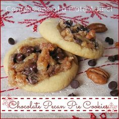 CONFESSIONS OF A PLATE ADDICT Chocolate Pecan Pie Cookies