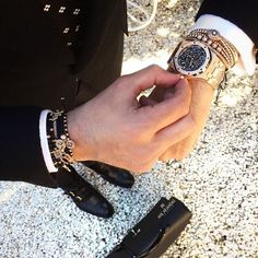 Today's wristgames with Anil Arjandas Jewels. Enjoy your day!