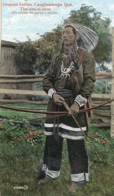 Native American Historic Photographs: Favorite Photos of the Iroquois Indian Tribe