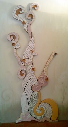 Sarah Geraci - terracotta policroma cm100x240