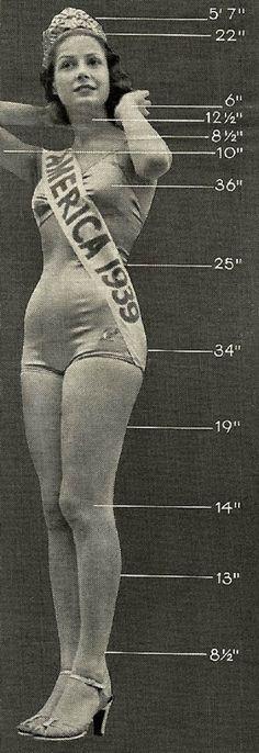 Beauty Queen, Miss America 1939