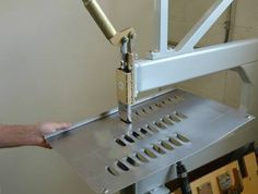 homemade metal working shop tools | back to Metal Machine Index page
