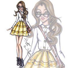 Disney Diva Fashionistas by Hayden Williams: Belle | Use Instagram online! Websta is the Best Instagram Web Viewer!