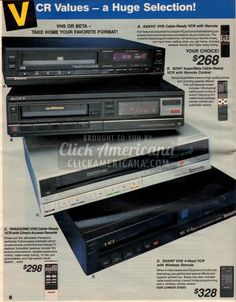 1987's hottest TVs, VCRs, stereos, cellular phones