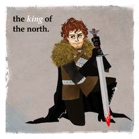 Robb Stark by ~michA-sAmA on deviantART