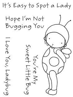 my favorite things innocense | my favorite things pure innocence clear stamps 3 x4 sheet ladybug item ...