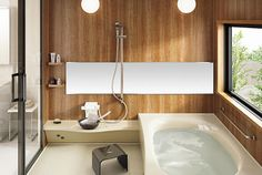 「浴室 2.5坪」の画像検索結果 Japanese Style Bathroom, Bad Styling, Japanese House, Bathroom Styling, Rustic Interiors, Powder Room, Room Inspiration, Sweet Home, Bath Room