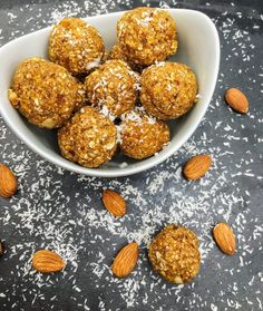 Almond and Dates Energy Bites These delicious Almond and Dates Energy Bites are made using Middle Eastern flavours like dried dates and apricots, almonds, orange blossom and grape molasses.
