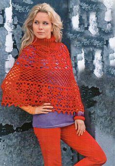 crochet women's poncho pattern | Crochet Poncho Patterns