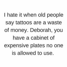 Old people say weird shit sometimes lol Same shit different smell Deborah :)