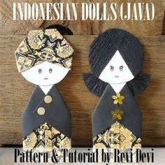 indonesian paper dolls - 必应 Images