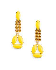 Rock Citrus Earrings - JewelMint