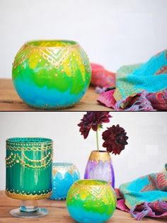 DIY Moroccan Style Candle Holders Ideas