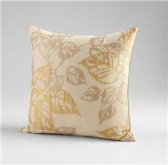 Ecru Oak Pillow By Cyan Design