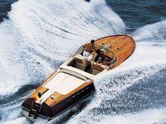 Life on Sundays (on a 60s Riva Aquarama boat)