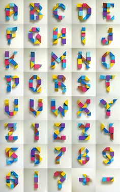 What a beautiful alphabet! Handmade Typography is a favourite of mine.