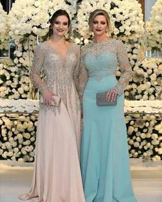 2018 Sexy Mother Of The Bride Dresses Jewel Neck Long Sleeves Silver Beaded Lace Appliques Beaded Chiffon Plus Size Party Dress Evening Gown Mother Of The Groom Dress Plus Size Mother Of The Groom Dresses Petite From &Price; Bride Groom Dress, Bride Gowns, Bridal Dresses, Beach Dresses, Hawaiian Dresses, Linen Dresses, Mother Of The Bride Dresses Long, Mothers Dresses, Mom Dress