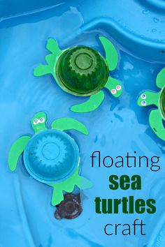 10 Fun Sea Turtle Facts for Kids + DIY Sea Turtle Craft is part of Endangered Animal crafts - The best way to teach your children about endangered animals is to get hands on! Here are fun sea turtle facts for kids plus a sea turtle craft for kids! Sea Animal Crafts, Animal Crafts For Kids, Animals For Kids, Diy For Kids, Craft Kids, Kids Crafts, Easy Crafts, Animal Activities For Kids, Green Crafts For Kids