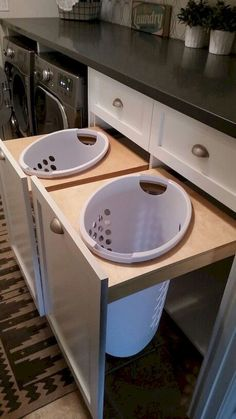 Do not miss out these fantastic Basement Laundry and Utility Rooms Laundry Room Wall Decor, Basement Laundry, Farmhouse Laundry Room, Laundry Room Organization, Laundry Room Design, Laundry Storage, Vintage Laundry Rooms, Laundry Tips, Small Laundry