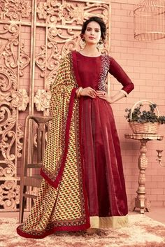 bdb3dbfc78 19 Best Anarkali Collection By Mirraw images in 2019 | Salwar suits ...