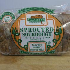 100% Whole Grain Sprouted Sourdough from Alvarado Street Bakery. No flour, no sugar, low fat, and organic. Yum!  Open: Mon-Fri, 8am-8pm Sat & Sun, 10am-8pm