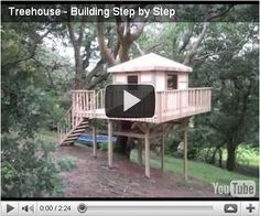 Tree House Plans Free | ... Plans | Outdoor Treehouse | Wooden Playhouse | Wooden Design Plans