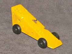 Pinewood derby mouse and cheese car