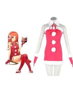 Vocaloid Miki Christmas Anime Cosplay Costume