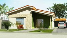 Fachadas de Casas pequenas e simples