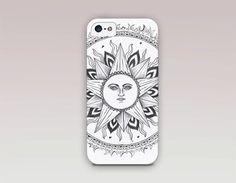 Sun Mandala Phone Case For  iPhone 6 Case  by ShopCatchingRainbows