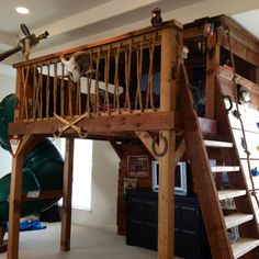 A Treehouse Bed for our son, Max!