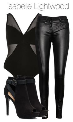 A fashion look from August 2017 featuring leather jeans and black booties. Browse and shop related looks. Bad Girl Outfits, Edgy Outfits, Mode Outfits, Grunge Outfits, Classy Outfits, Girls Fashion Clothes, Fashion Outfits, Fashion Ideas, Shadowhunters Outfit